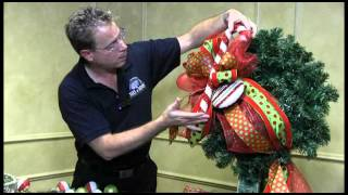 Download How To Decorate a Christmas Wreath - Trees n Trends - Unique Home Decor Video
