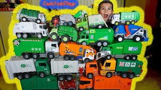 Download Huge Garbage Truck Toy Collection - Toy Trucks for Children Video