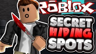 Download Roblox | Murder Mystery 2 | ALL SECRET HIDING SPOTS!! Video