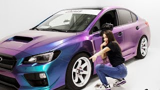Download Worst Car Wrap Ever? Can We Fix This? | Lady Driven 2017 WRX Video