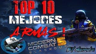 Download TOP 10 | Mejores armas de Modern Combat 5 Video