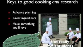 Download Research is Like Cooking Video