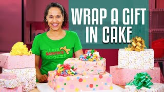 Download How To Make A SURPRISE INSIDE GIFT BOX Cake | With REAL GIFT INSIDE! |Yolanda Gampp | How To Cake It Video