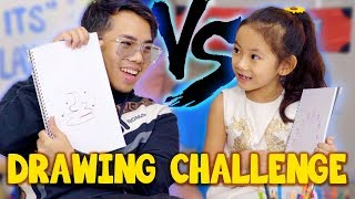 Download Kid VS Adult: Who Can Draw Better? Video