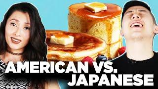 Download American Vs. Japanese: Pancakes Video