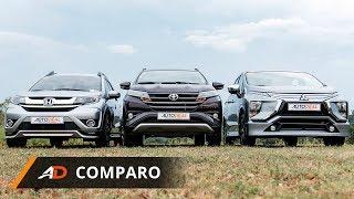 Download Toyota Rush vs Mitsubishi Xpander vs Honda BR-V - AutoDeal Comparo Video