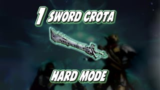 Download Destiny - Hard Mode Crota kill with only 1 Sword Video