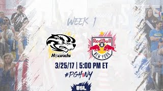 Download USL LIVE - Pittsburgh Riverhounds vs New York Red Bulls II 3/25/17 Video