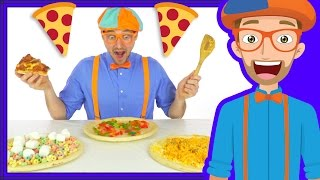 Download Funny Fun Pizza Song by Blippi | Foods for Kids Video