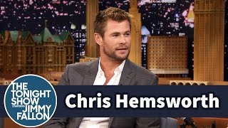 Download Chris Hemsworth Lets His Daughter and Nieces Paint His Nails Video