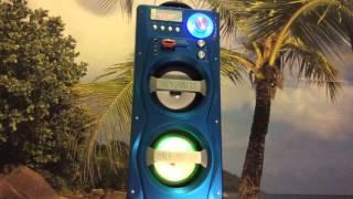 Download Бумбокс магнитола MP3 WS-862BT Video