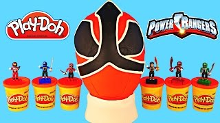 Download HUGE POWER RANGERS Play Doh Surprise Egg Minecraft LEGO Spongebob Thomas & Friends Cars Video