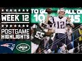 Download Patriots vs. Jets (Week 12) | Game Highlights | NFL Video