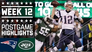 Download Patriots vs. Jets | NFL Week 12 Game Highlights Video