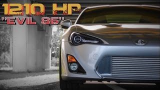 Download 1210HP Toyota FRS - 2JZ Powered ″Evil 86″ feature Video