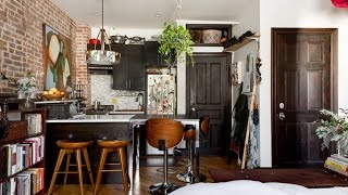 Download Tour Charming Studio Apartment With Rustic Touch, Brooklyn 🍍 Video