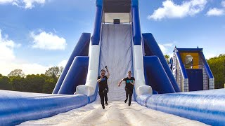 Download INSANE INFLATABLE OBSTACLE COURSE!!! Video