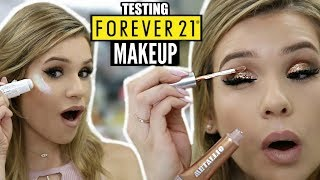 Download Full Face TESTING FOREVER 21 Makeup... IS IT ANY GOOD?? | HIT or MISS Video