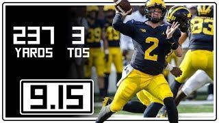 Download Shea Patterson Full Highlights Michigan vs SMU || 9.15.18 || 237 Yards, 3 TDs Video
