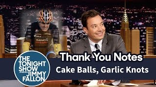 Download Thank You Notes: Cake Balls, Garlic Knots Video