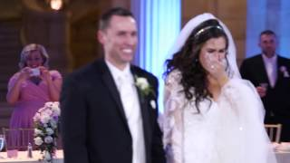 Download This bride thought her first dance was ruined… you won't believe what happened next: Video