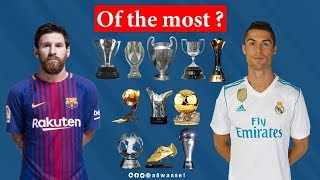 Download Cristiano Ronaldo vs Lionel Messi THE GOALS, AWARDS, TITLES AND STATISTICS Video