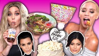 Download Trying the Kardashians' Favorite Foods Video