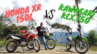 Download Honda XR 150L VS Kawazaki KLX 150 Video