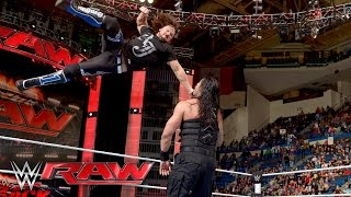 Download Roman Reigns vs. Alberto Del Rio: Raw, April 25, 2016 Video