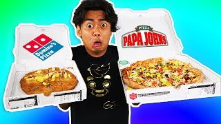 Download I Tried Ordering Every Topping On My Pizza From Papa Johns ~ Dominos Video