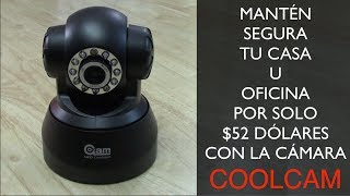 Download Como vigilar tu hogar por $50 dólares cámara coolcam Video