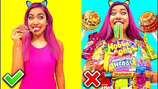 Download Candy Shirt! Clever Food Hacks Everyone Should Know!!! (CC Available) Video