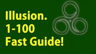 Download Illusion 1-100 Under a minute Skyrim Fastest way to level Video