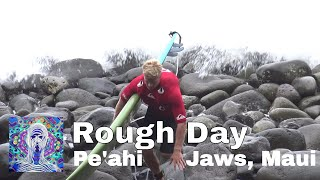 Download Rough Day Surfing at Pe'ahi, Jaws - Maui Dec. 13th 2017 Video