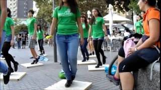 Download Saint Patrick's Day flash mob in Santiago, Chile Video