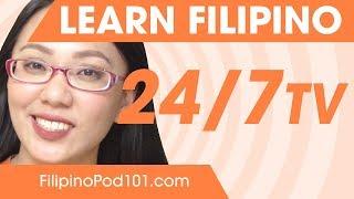Download Learn Filipino 24/7 with FilipinoPod101 TV Video
