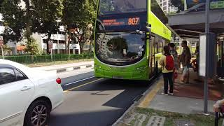 Download 1st Day Of SBS Transit Takes Over Yishun Feeder 800, 804, 807 & 860. Video