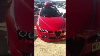 Download Alfa 159 custom modified paint job in the sun Video
