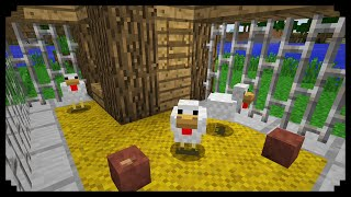 Download ✔ Minecraft: How to make a Chicken Coop Video