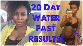 Download What a 20 day water fast did to my BODY! Video