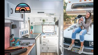 Download She Renovated A 1985 Dolphin Into A Gorgeous Tiny Home On Wheels Video