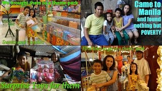 Download Poverty in the Philippines: Their First Time Going to a Theme Park and Eating Jollibee Fast Food Video