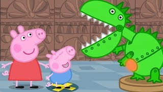 Download Peppa Pig English Episodes - Peppa and George's Trip to the Museum! Peppa Pig Official Video