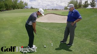 Download Rickie Fowler on How To Hit a Chip Shot Over a Bunker | Butch Harmon Golf Lessons | Golf Digest Video