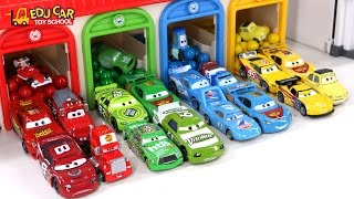 Download Learning Color Number With Disney PIXAR Cars Lightning McQueen Mack Truck Playset for kids car toys Video