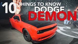 Download 2018 Dodge Demon - 10 Things You Need to Know - 2017 New York Auto Show Video