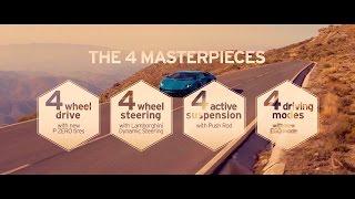 Download Lamborghini Aventador S: the 4 Masterpieces Video