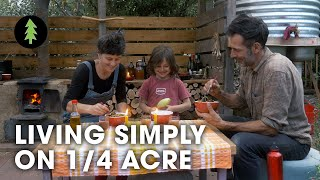 Download Family Flourishing on a 1/4-acre Permaculture Plot - Creatures of Place Video