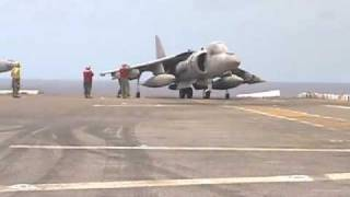 Download Harrier Vertical Landing & Takeoff Video