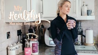 Download MY HEALTHY MORNING ROUTINE | Workout With Me! | Fashion Mumblr AD Video